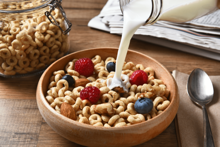 ngũ cốc ăn sáng