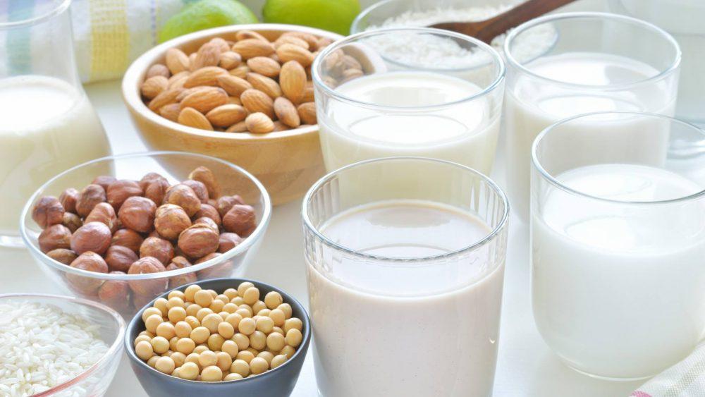 5 loai sữa hạt thực vật