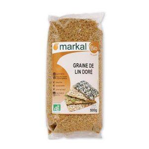 Hạt mè vàng hữu cơ tách vỏ Markal 250g