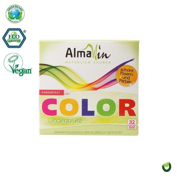 Bột giặt hữu cơ hương hoa đoạn cho đồ màu 1kg - Almawin