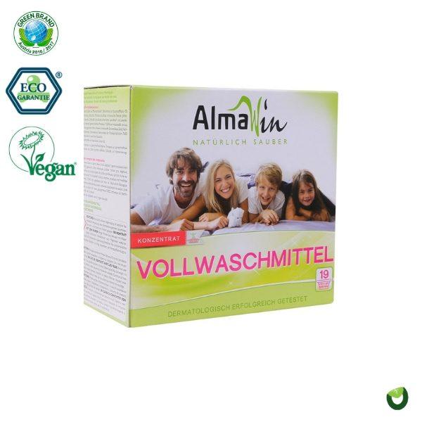 Bột giặt hữu cơ tẩy mạnh vết bẩn 1080g - Almawin