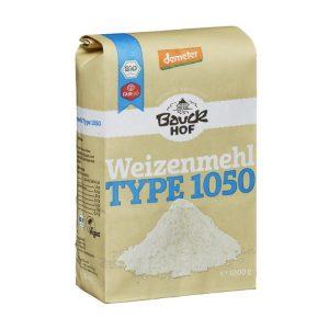Bột mì nguyên cám hữu cơ loại 1050 1kg - Bauck Hof