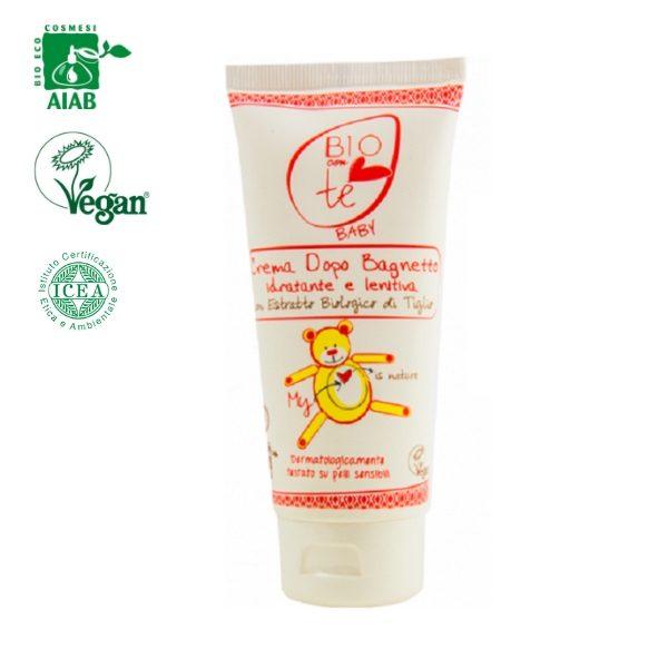 Kem dưỡng ẩm và làm dịu da dành cho da bé nhạy cảm 100ml - Pierpaoli