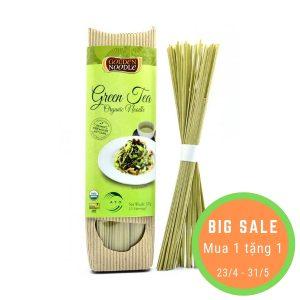 Mì sợi hữu cơ vị trà xanh 200g - Golden