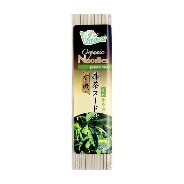 Mì sợi hữu cơ vị trà xanh 200g - Vitame