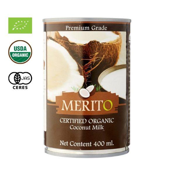 Nước cốt dừa hữu cơ 400ml - Merito