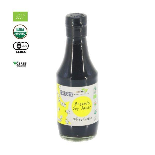 Nước tương đậu nành hữu cơ 200ml - LumLum