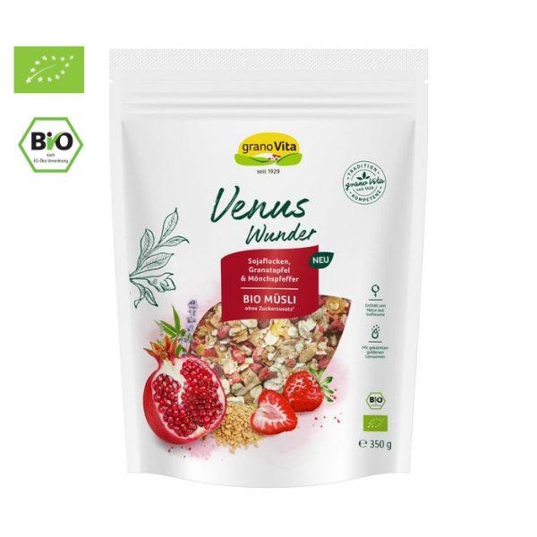 Ngũ cốc hỗn hợp đậu nành, lựu, chasteberry hữu cơ 350g - Granovita