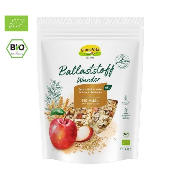 Ngũ cốc hỗn hợp táo , chà là hữu cơ 350g - Granovita