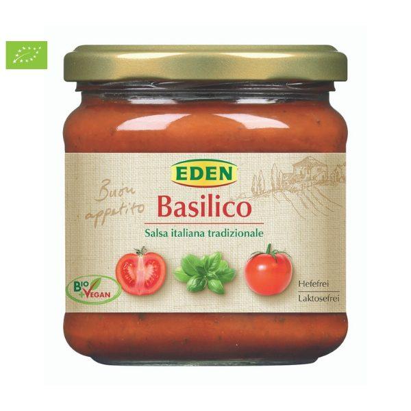 Sốt cà chua với thảo mộc hữu cơ 375g - Eden