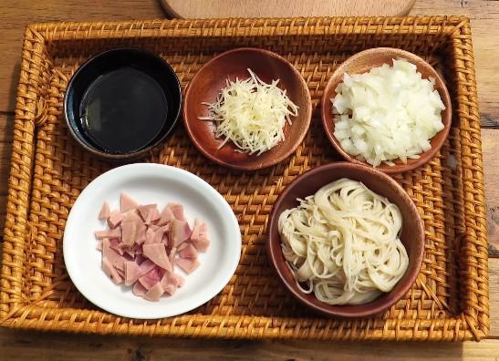 Mì ăn dặm Men No Sato kết hợp Jambon và phô mai