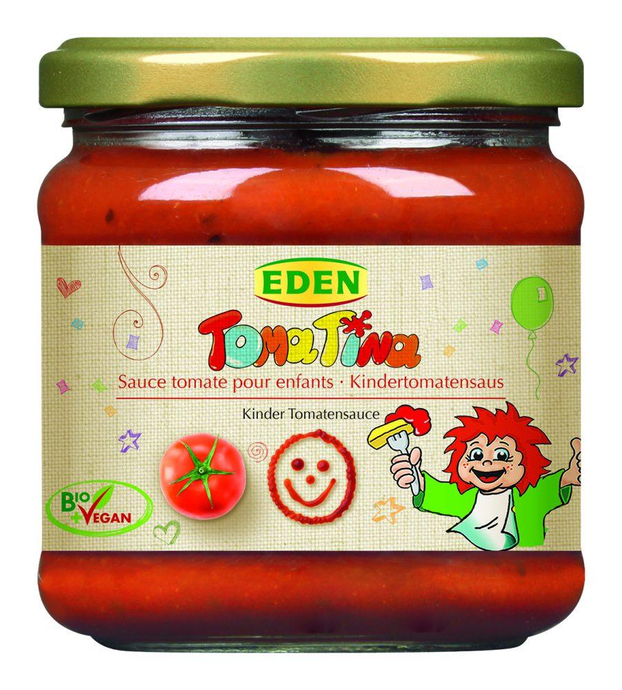 4005047114082 - Eden Sốt cà chua hữu cơ dành cho trẻ em 375g