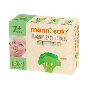 Mì ăn dặm hữu cơ cho bé vị bông cải xanh Men No Sato 4