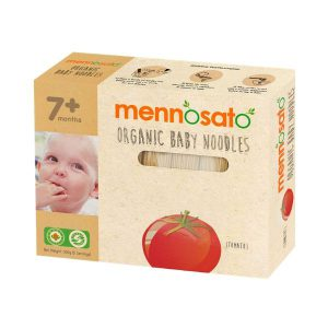 Mì ăn dặm hữu cơ cho bé vị cà chua Men No Sato 4