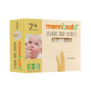 Mì ăn dặm hữu cơ cho bé vị lúa mì Men No Sato 1