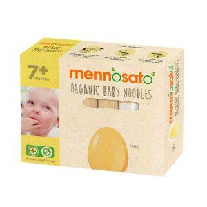 Mì ăn dặm hữu cơ cho bé vị trứng -Men No Sato 4
