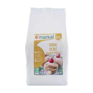 Bột mì hữu cơ T65 bread flour Markal 1kg 1