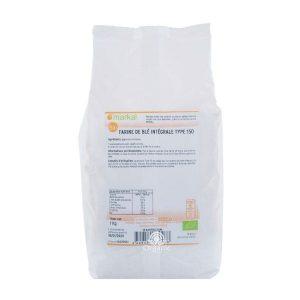 Bột mì nguyên cám Whole wheat flour hữu cơ Markal 1kg 2