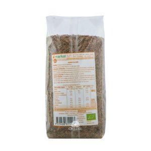 Hạt Lanh Nâu Brown Flaxseed Hữu Cơ Markal 500g 2