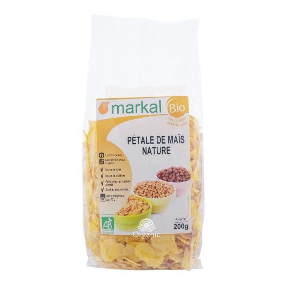 Ngũ cốc hữu cơ bắp (ngô) cán dẹp Markal 200g 1