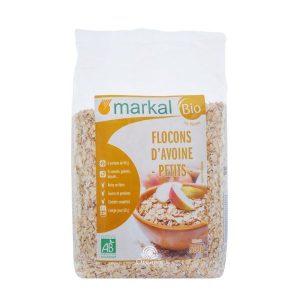 Yến mạch cán dẹp hữu cơ Markal 500g 1