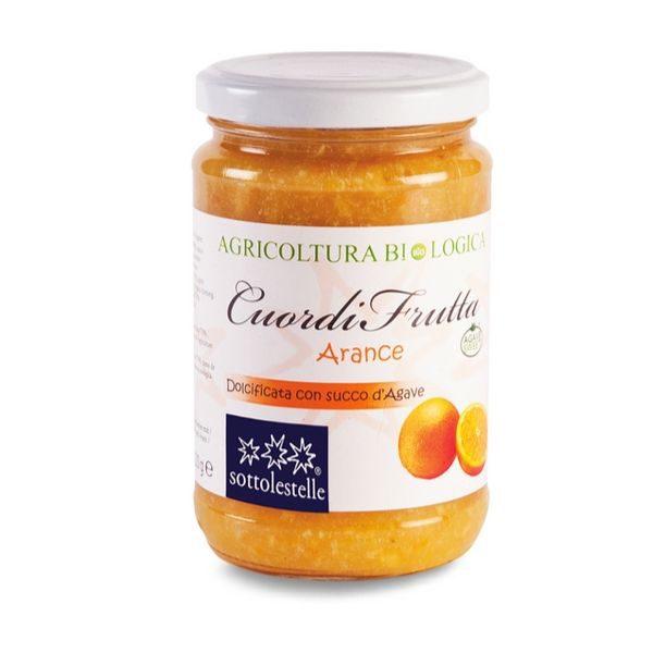 Mứt cam hữu cơ Sottolestelle 320g Organic Orange Jam 1