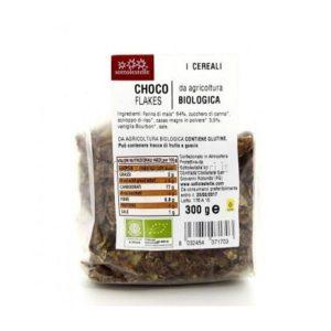 Ngũ cốc ngô socola Choco Flakes hữu cơ Sottolestelle 300g 2