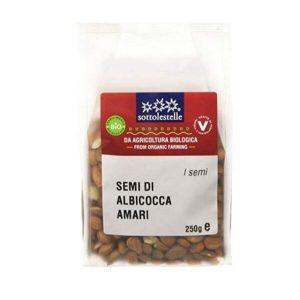 Nhân hạt mơ hữu cơ Sottolestelle 250g Organic Bitter Apricot Seeds