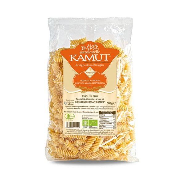 Nui xoăn Fusilli hữu cơ Khorasan Kamut® Sottolestelle 500g 1
