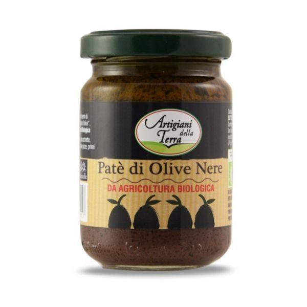 Pate oliu đen hữu cơ Sottolestelle 140g 1