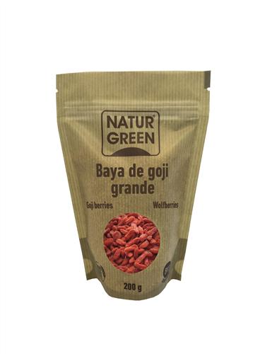 Hạt kỷ tử Goji hữu cơ NaturGreen 250g - Tây Ban Nha