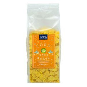 8032454070560 A Ngũ cốc hữu cơ bắp ngô siro cán dẹp Sotto 300g - Corn Flakes agave