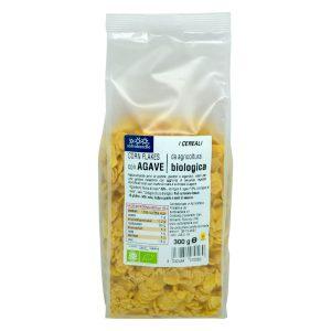 8032454070560 C Ngũ cốc hữu cơ bắp ngô siro cán dẹp Sotto 300g - Corn Flakes agave