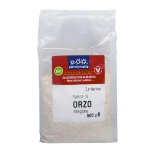 8032454071123 A Bột ý dĩ Barley nguyên cám hữu cơ Sotto 500g - Farina di Orzo Integrale
