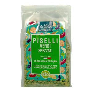 8032454070522 A Đậu hà lan hữu cơ đã tách hạt Sotto 400g - Piselli verdi spezzati Italiani