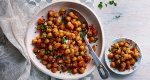 Curried-roast-chickpeas - đậu gà sotto